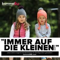 100 Flyer   Geld verdienen mit bommelME - Motiv BAMbeanie