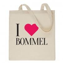 Jutebeutel *I LOVE BOMMEL*