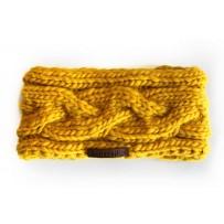 Stirnband Handmade Gelb
