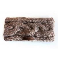 Stirnband Handmade Sand