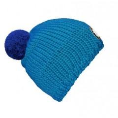 seeME - Mützenfarbe Türkisblau - Bommelfarbe Blau