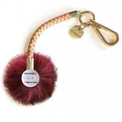 Bommelz - Farbe Hellbraun - Bommelfarbe Fakefur Pink xsoft