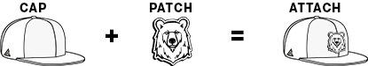 cap-patch-attach