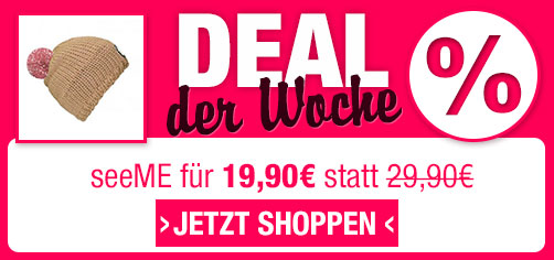 Deal der Woche - seeME