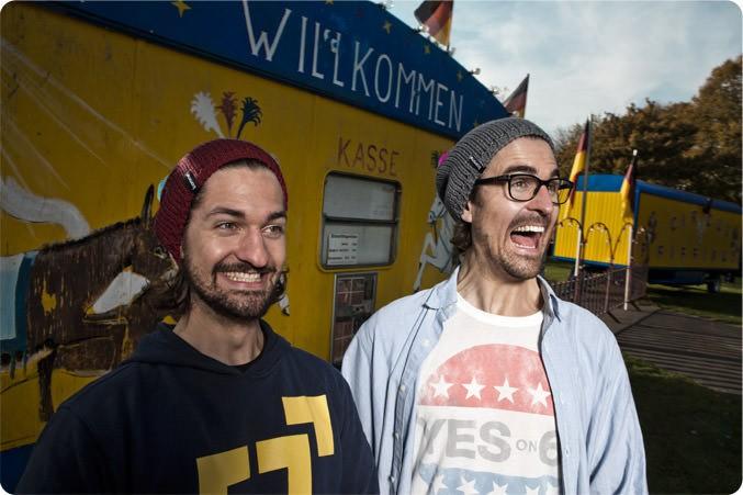 Menzel Brüder - bommelME Gründer